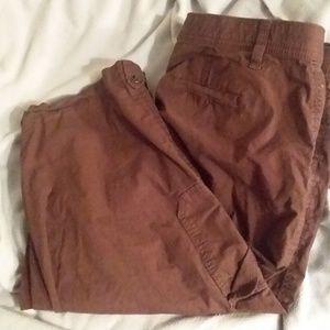 Laura Scott Capris Brown Women's size 12, used